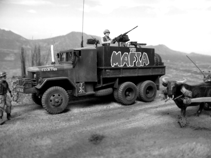 m35 gun truck 1/72° Mafia415