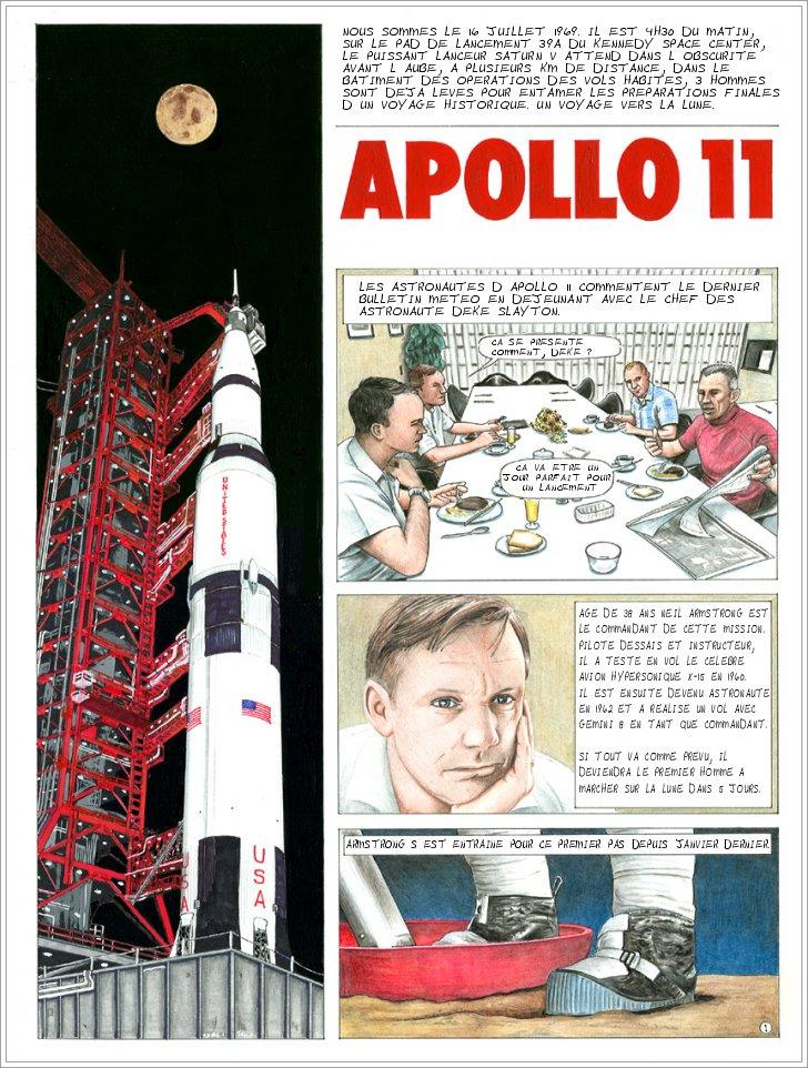 Traduire la BD Apollo 11 d'Ed Hengeveld Apollo10