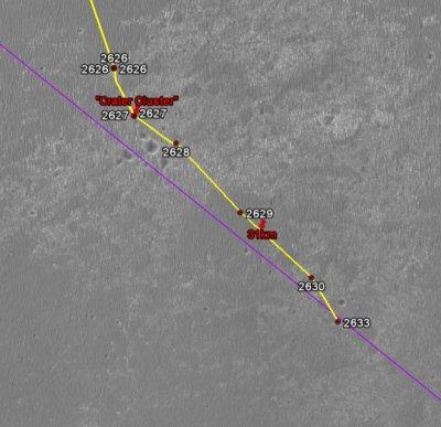 Opportunity va explorer le cratère Endeavour - Page 12 Image132