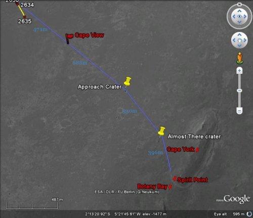 Opportunity va explorer le cratère Endeavour - Page 13 Image136
