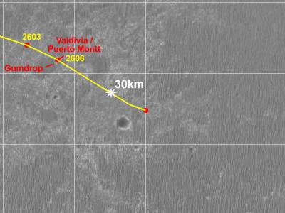 Opportunity va explorer le cratère Endeavour - Page 12 Route_10