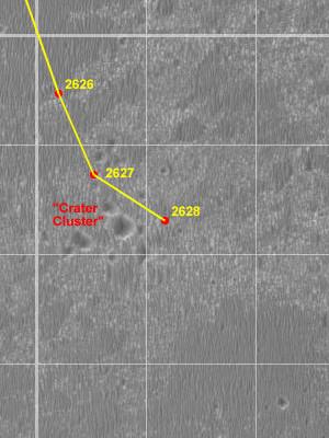 Opportunity va explorer le cratère Endeavour - Page 12 Route_11