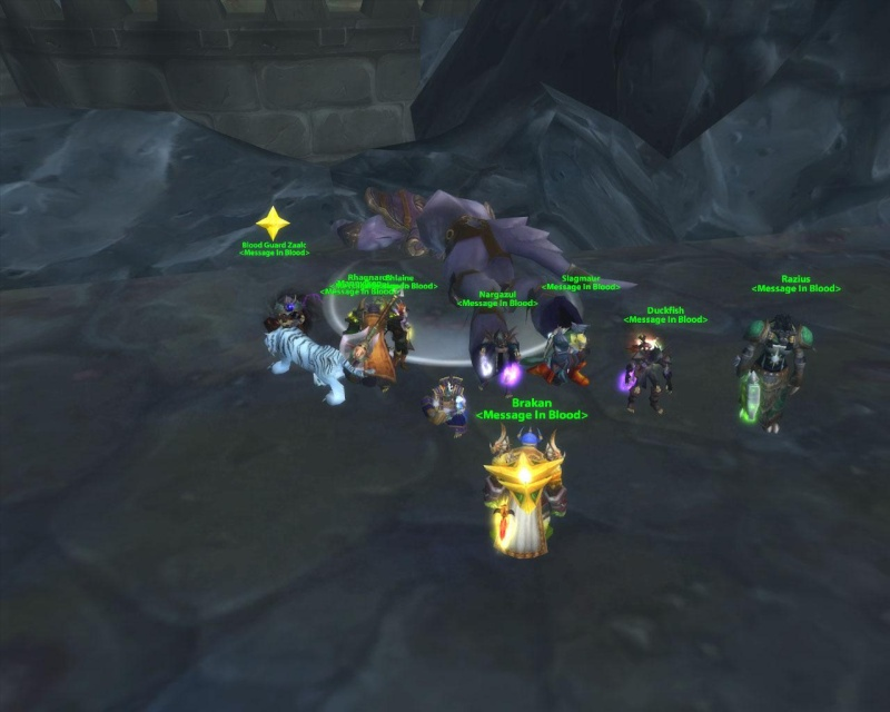 Some killshots of some bosses slain by the new raid grp Prince10