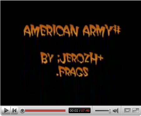 Videos De AMERICAN ARMY 2008  (en youtube) Screen10
