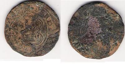 4 maravedis de los RRCC (Cuenca, 1474 - 1504 d.C) Reyes_10