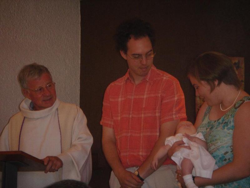 Le Baptème de Capucine, 15 juillet 2007 Juille13