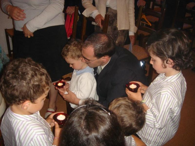 Le Baptème de Capucine, 15 juillet 2007 Juille15