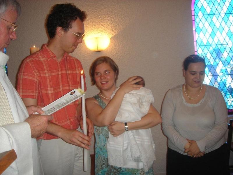 Le Baptème de Capucine, 15 juillet 2007 Juille16