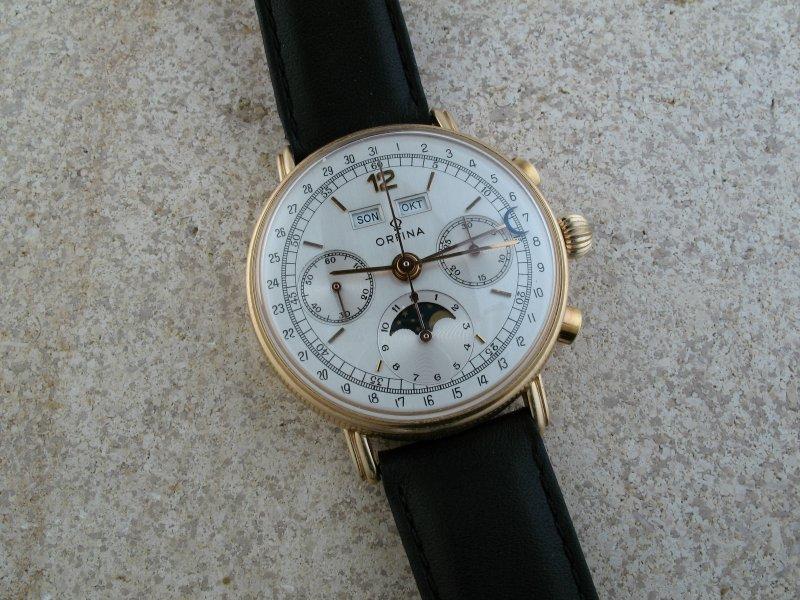 [Vendue] Vends chrono calendrier complet Orfina Valjoux 886 Img_1614