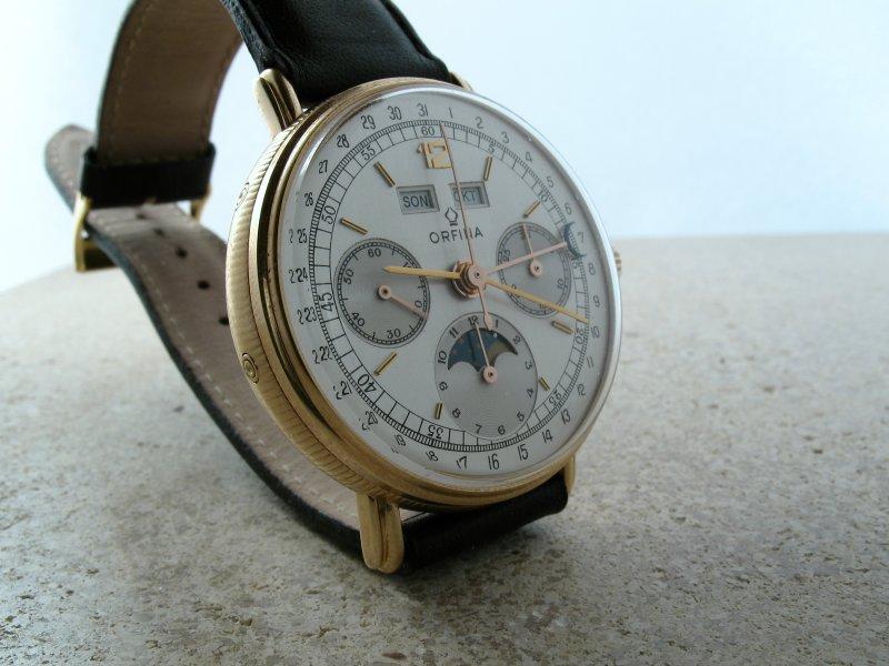 [Vendue] Vends chrono calendrier complet Orfina Valjoux 886 Img_1615