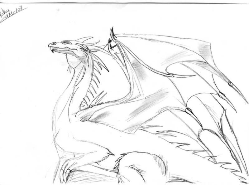 """Riku-Sama  ... avec un crayon dans la main >.<"""" Dragou10"""