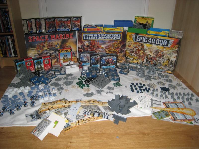 [TERMINER] lot Space marine, Titan Legion et Epic 40 000 Img_0011