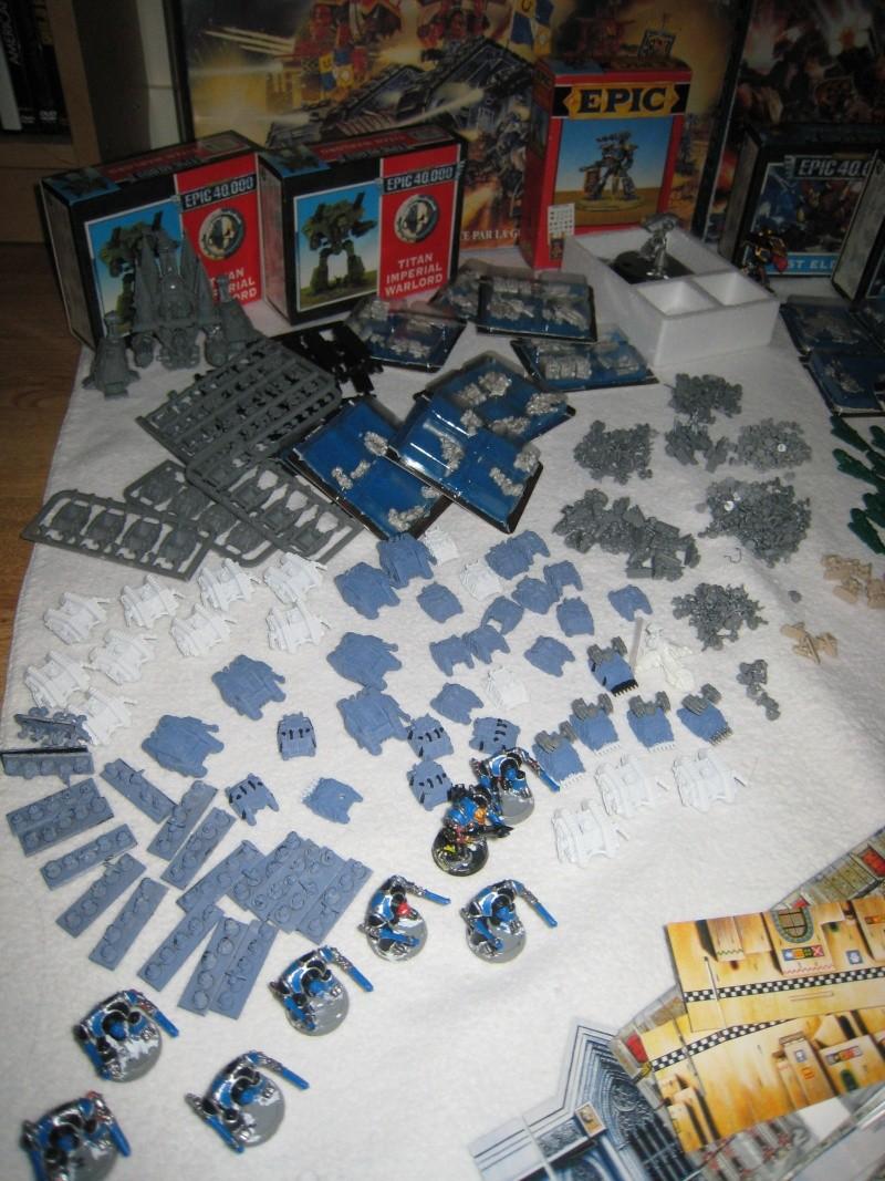 [TERMINER] lot Space marine, Titan Legion et Epic 40 000 Img_0012