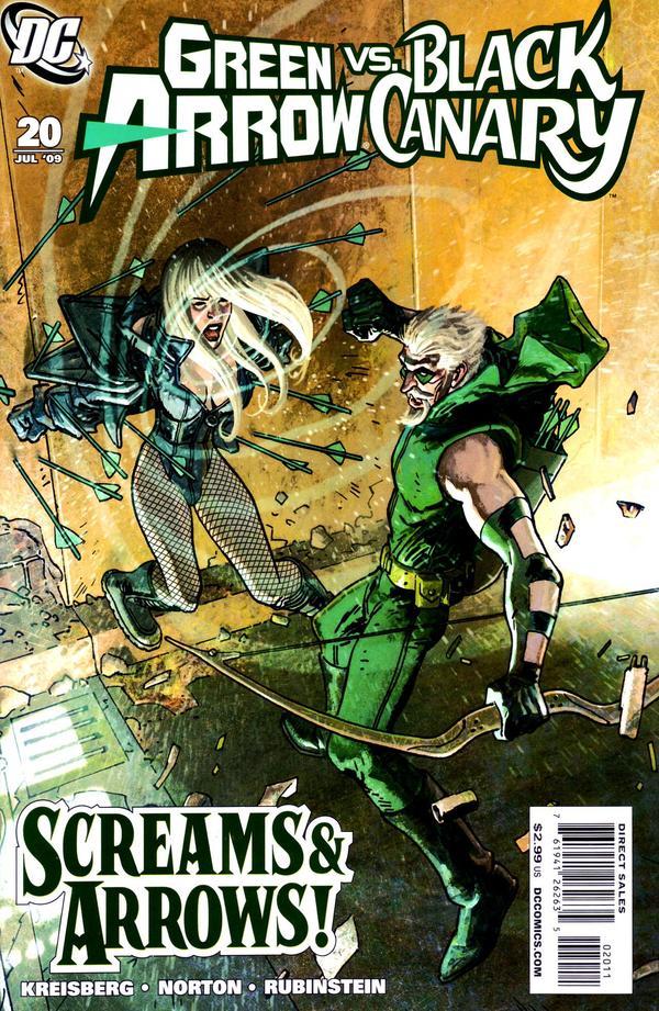 Green Arrow/Black canary                                 Bc10