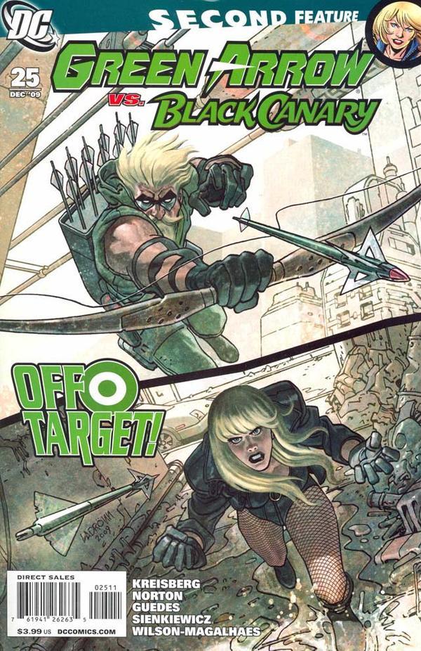 Green Arrow/Black canary                                 Bc210