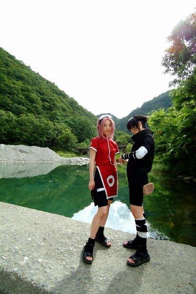 Cosplay de Sasuke, Sakura e Itachi A_23710