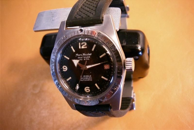 La montre de Poséidon 6010