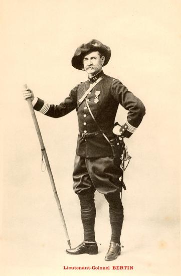 Lieutenant-Colonel Bertin 30bcp10