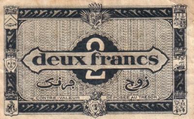 Emissions d'Algérie en billet avant 1962 Alg01010
