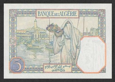 Emissions d'Algérie en billet avant 1962 Algeri15