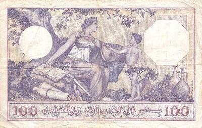 Emissions d'Algérie en billet avant 1962 Algeri21