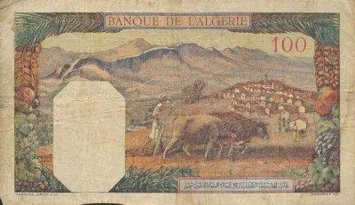 Emissions d'Algérie en billet avant 1962 Algeri29