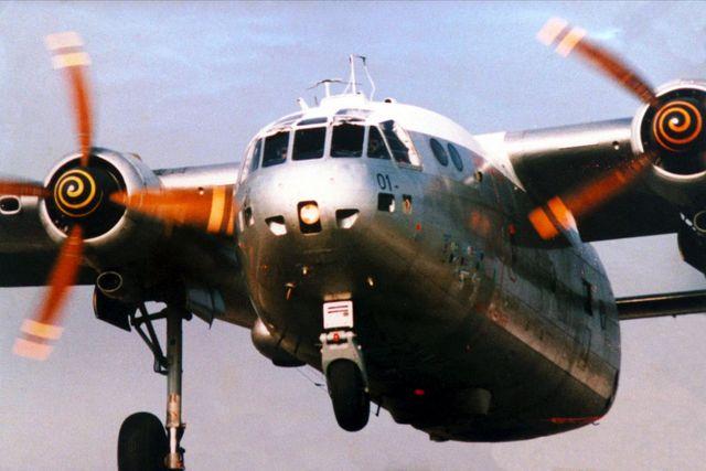 [Aéronavale divers] Petit hommage à l'unique Noratlas 2504 de la 10s F_422710