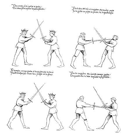 le combat medieval Dl1010