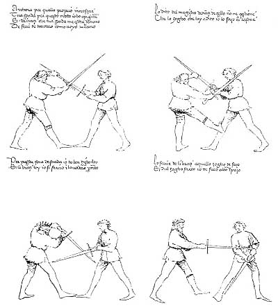 le combat medieval Dl1110