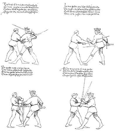 le combat medieval Dl1310