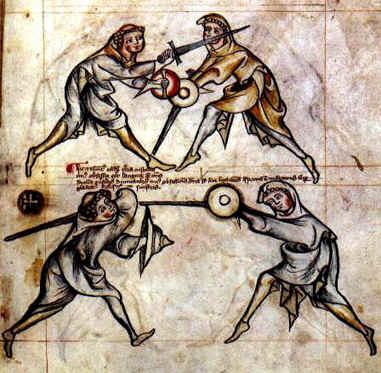 le combat medieval I3310