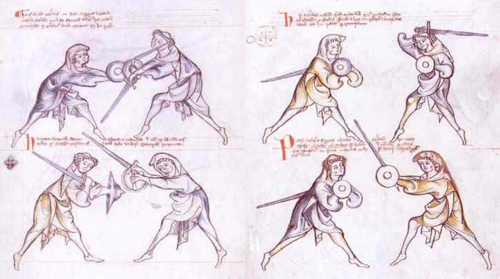 le combat medieval I33a10