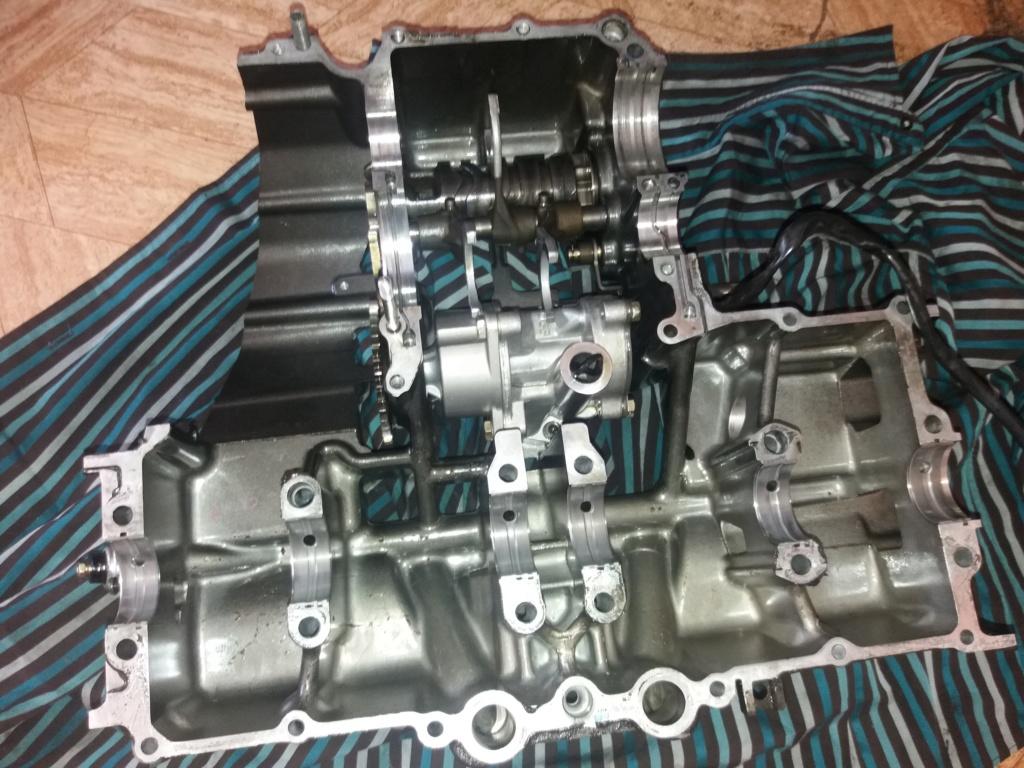 Démontage complet moteur Bandit 1200 20180610