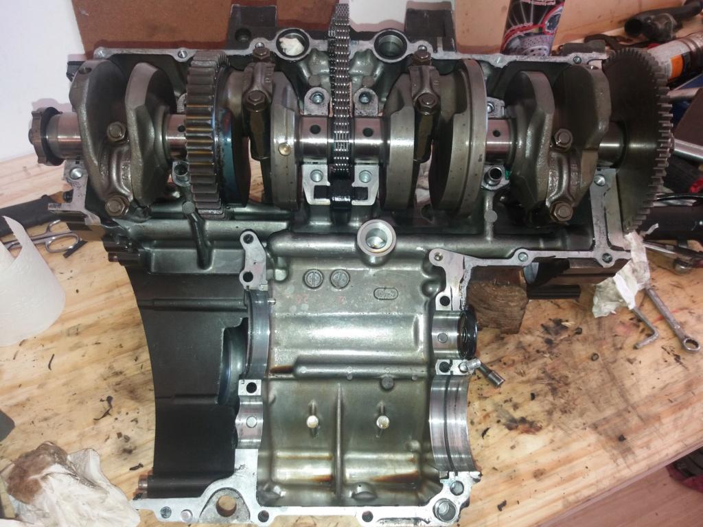 Démontage complet moteur Bandit 1200 20180611