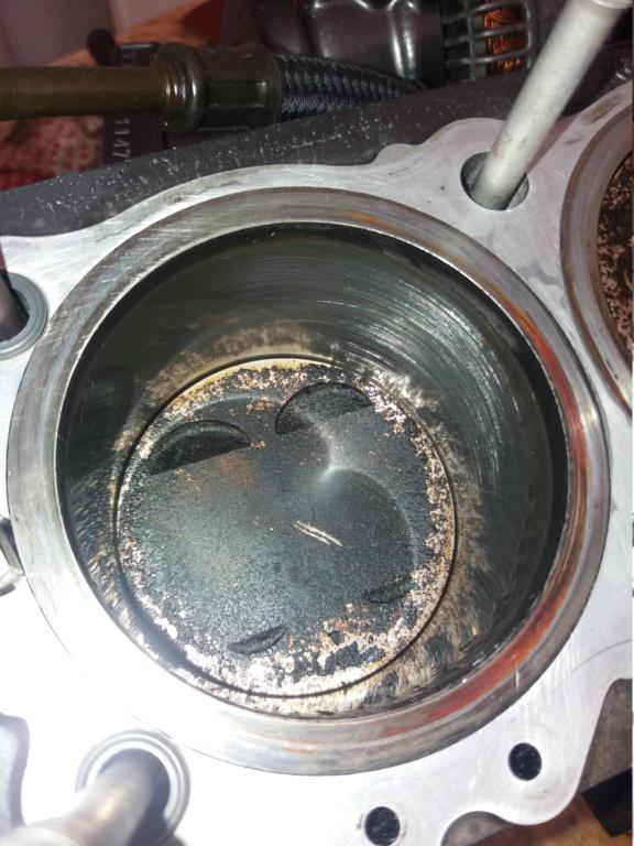 Démontage complet moteur Bandit 1200 20180710