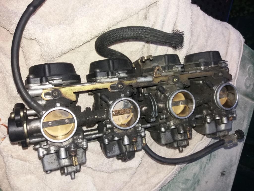 Démontage complet moteur Bandit 1200 20181110