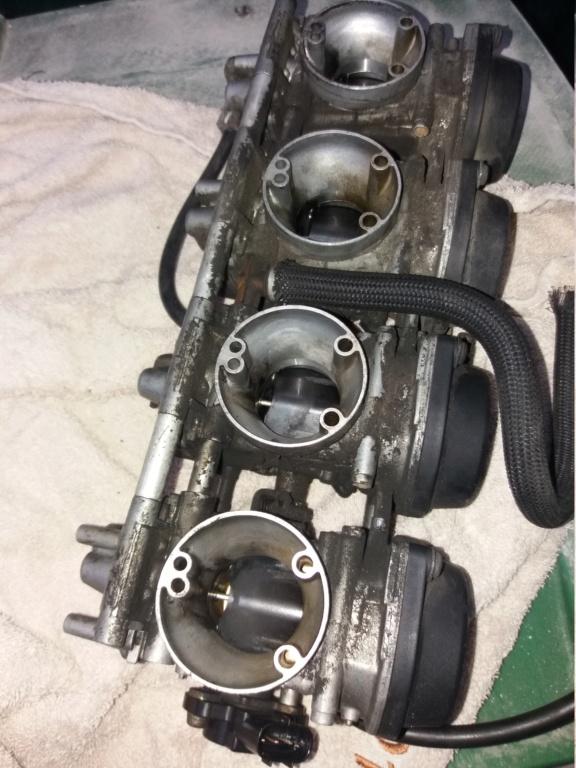 Démontage complet moteur Bandit 1200 20181111