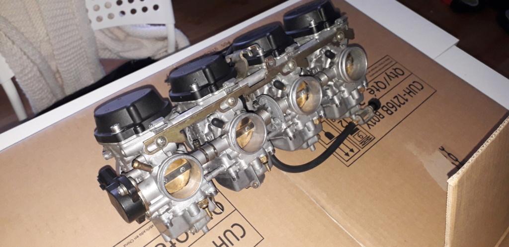 Démontage complet moteur Bandit 1200 20190412