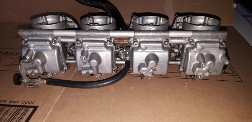 Démontage complet moteur Bandit 1200 20190413