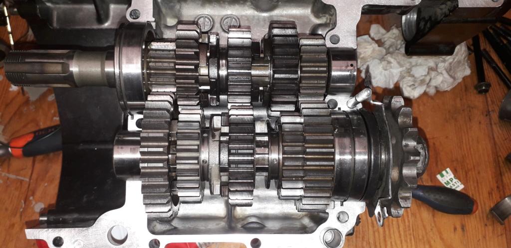 Démontage complet moteur Bandit 1200 20190417