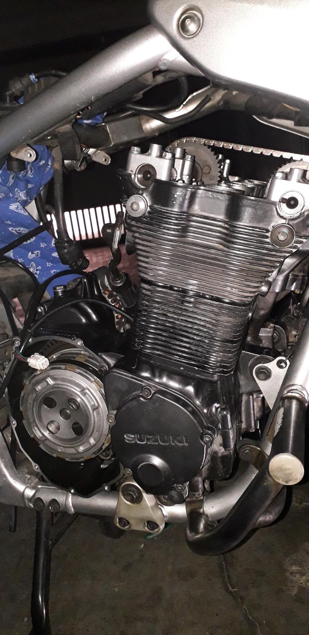 Démontage complet moteur Bandit 1200 20190418