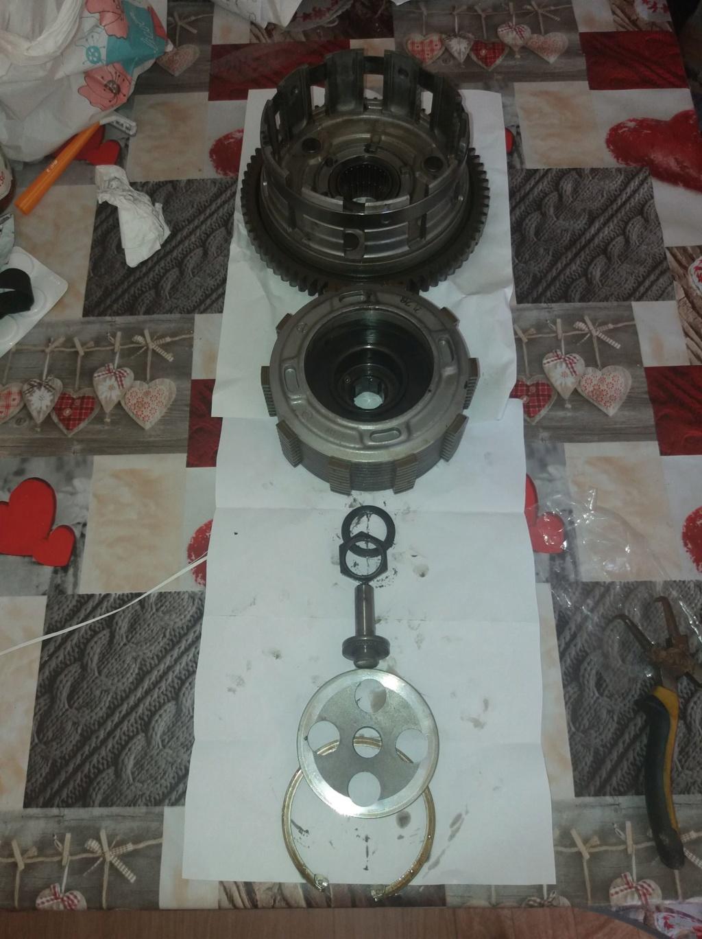 Démontage complet moteur Bandit 1200 36034210