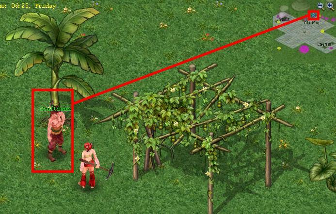 [ لعبة أون لاين ] طريقة بناء منزل فى كونكر اونلاين .. علي Mzeid  810
