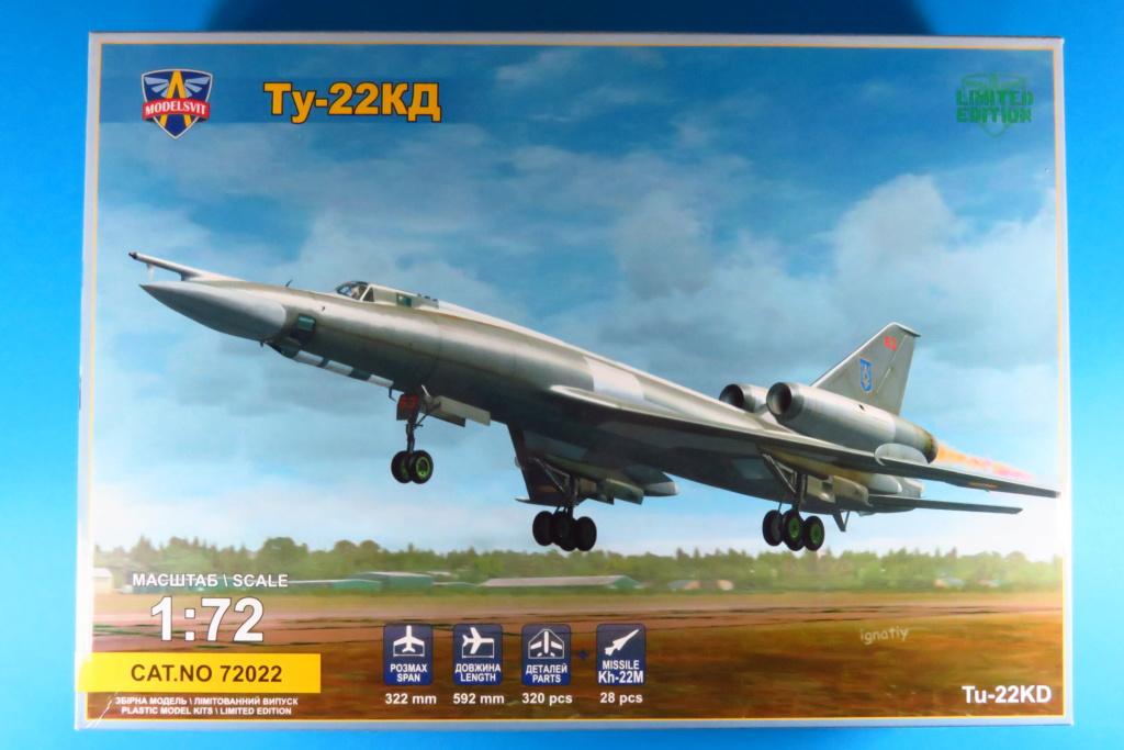 TU-22KD Blinder - 1/72è Modelsvit - C'est grand ! 110
