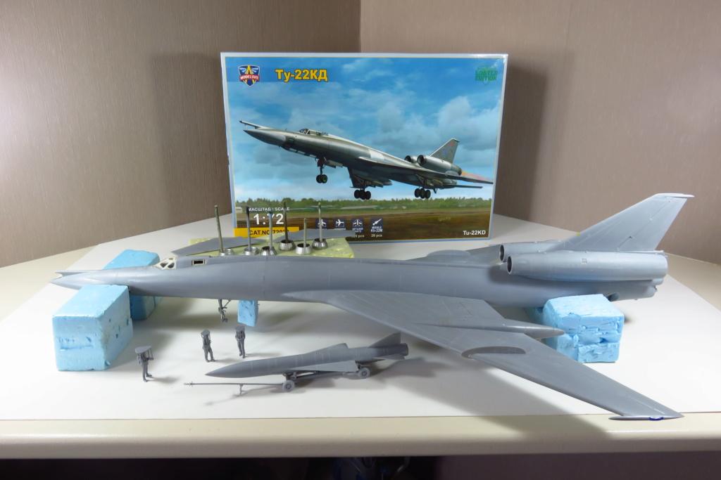 TU-22KD Blinder - 1/72è Modelsvit - C'est grand ! 2810