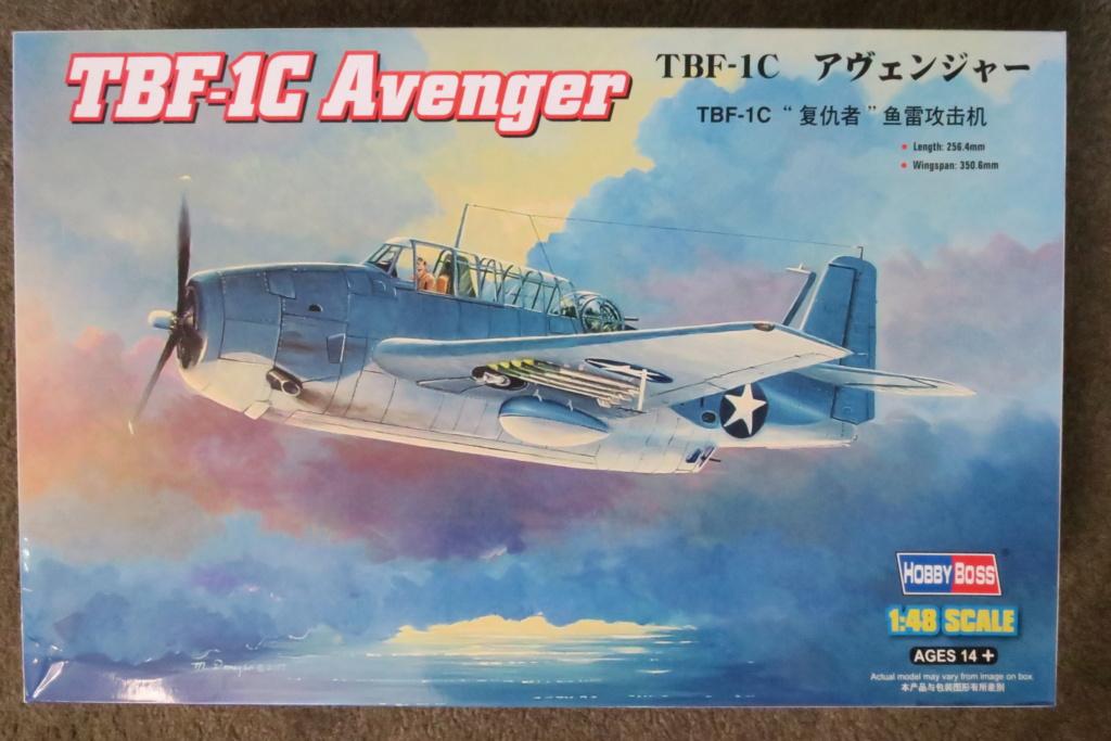 TBF1-C Avenger HobbyBoss 1/48 - Training Squadron 1943 Img_0590