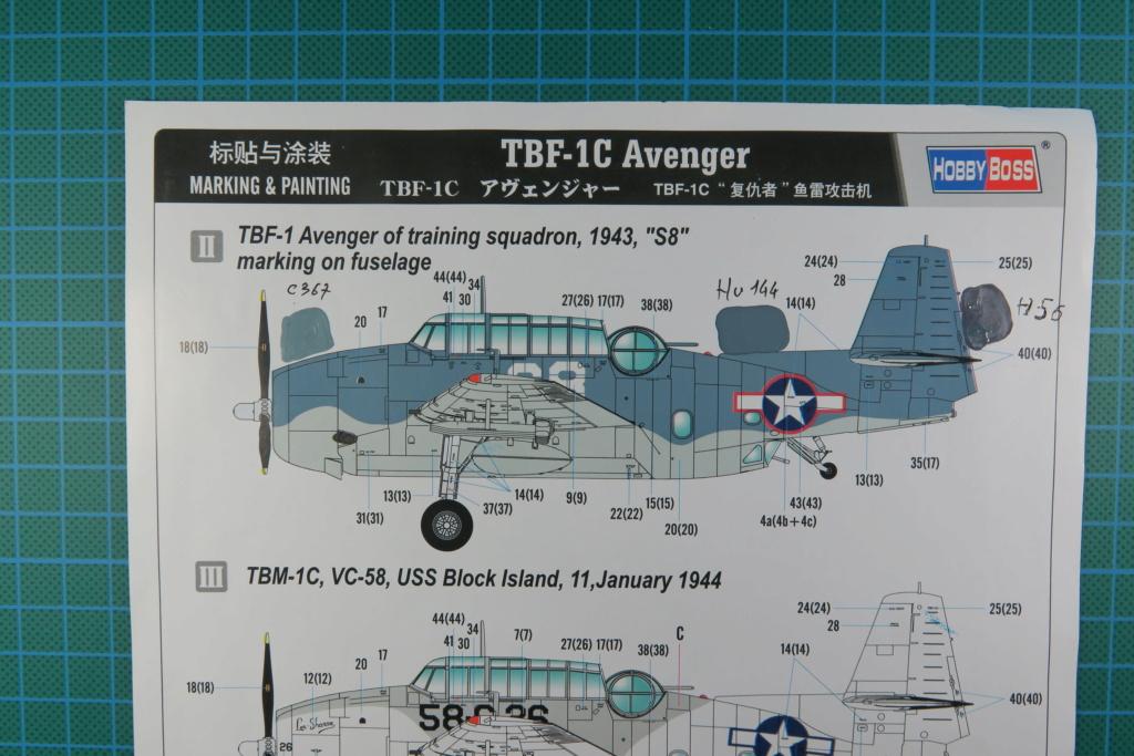 TBF1-C Avenger HobbyBoss 1/48 - Training Squadron 1943 Img_0652