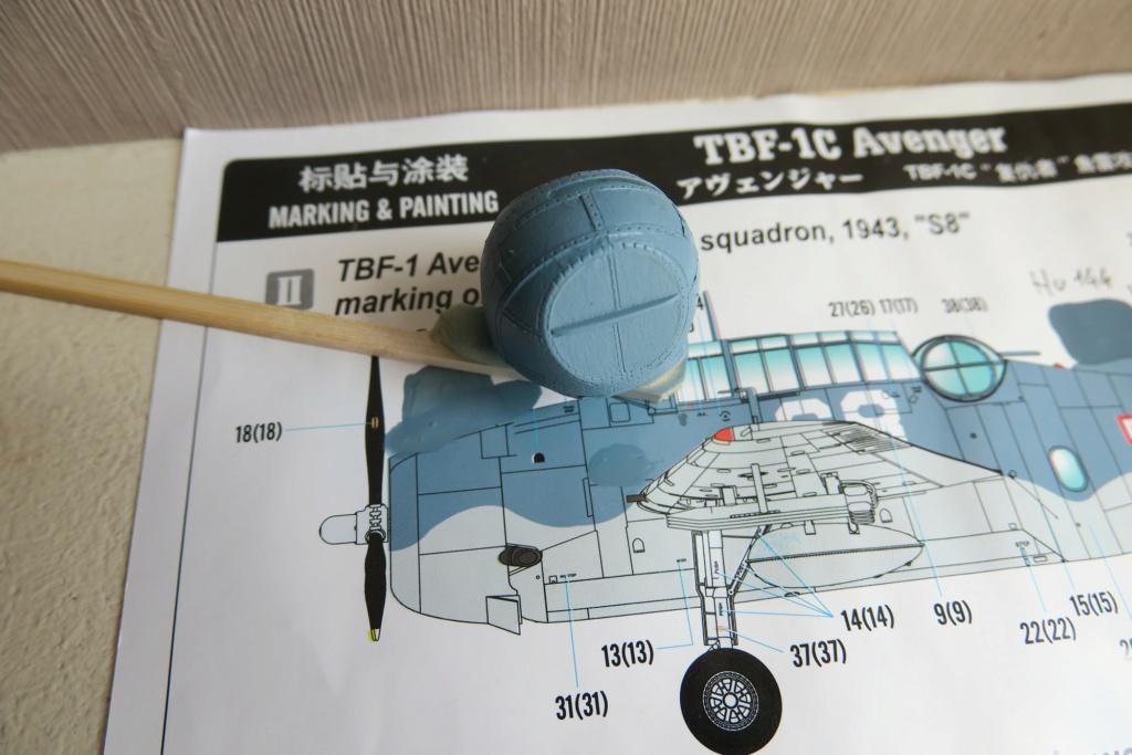 TBF1-C Avenger HobbyBoss 1/48 - Training Squadron 1943 - Page 5 Img_0921