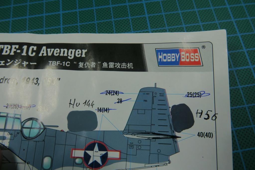 TBF1-C Avenger HobbyBoss 1/48 - Training Squadron 1943 - Page 9 Img_1038