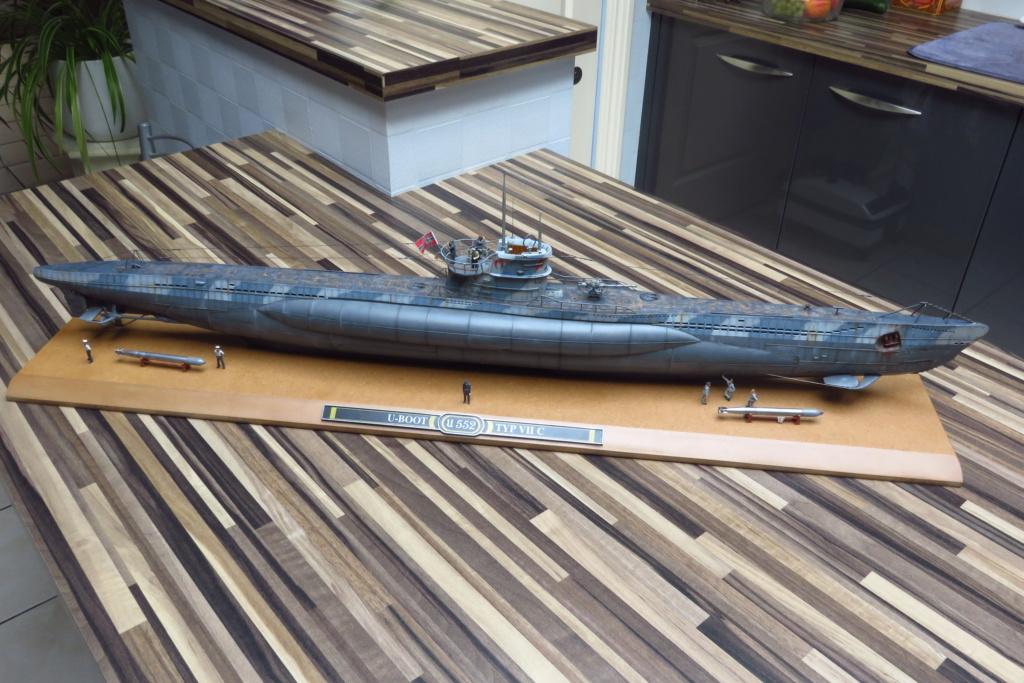 U Boat type VII C REVELL 1/72 Img_2510